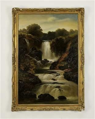 Signed James Howard O/c landscape, dated 1833