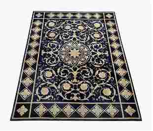 Contemporary hand knotted wool carpet, 11 x 9