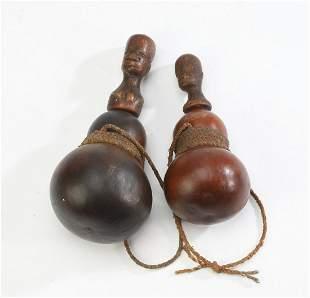 (2) Ngulu or Kwere medicine containers, Tanzania