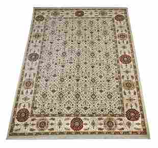 Sino-Persian hand knotted wool carpet, 12 x 9