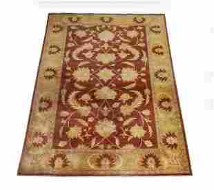 Indo-Sultanabad hand knotted wool carpet, 12 x 9