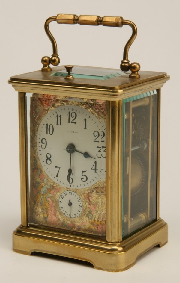 5: 19th c. Tiffany & Co carriage clock