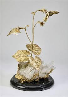 Stan Bentall 'Touch of Sweetness' quartz sculpture