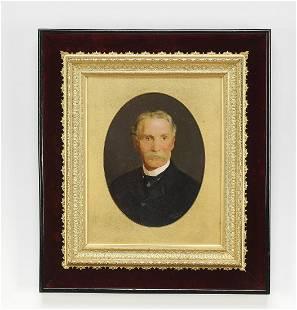Circa 1884 oil portrait Chancellor, Dublin