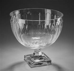 """Continental crystal center bowl, 11""""h"""