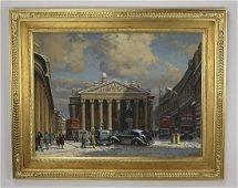 William Heytmann signed O/c 'The Bank of England'