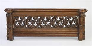 19th c. French Gothic Revival architectural element