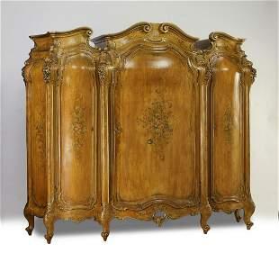 Early 20th c. Italian Venetian style armoire