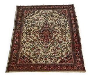 Hand knotted Persian Hamadan rug, 9 x 18