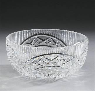 Waterford cut crystal fruit bowl