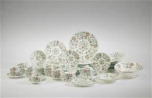 (73 pcs) Minton Haddon Hall dinnerware