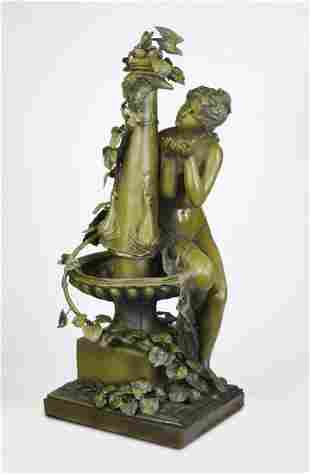 'Nympth by a Water Fountain', after Moreau