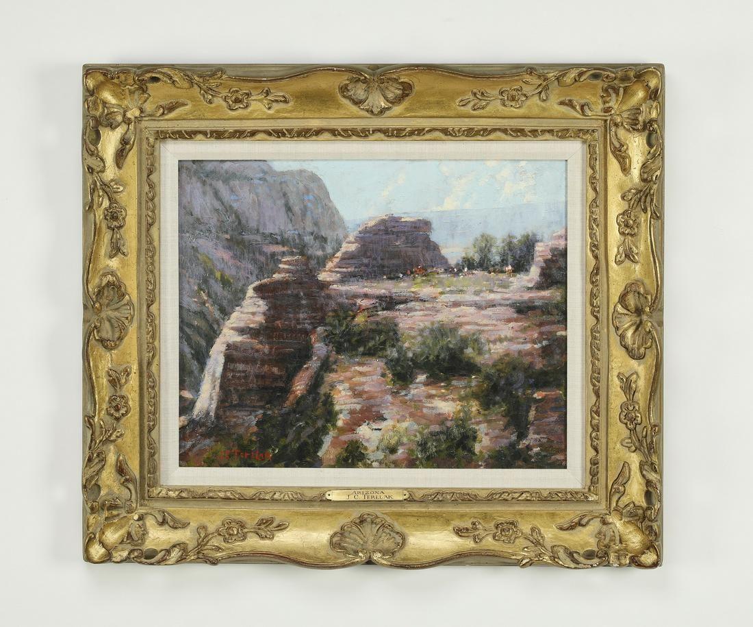 Signed John Terelak O/b 'Arizona' landscape