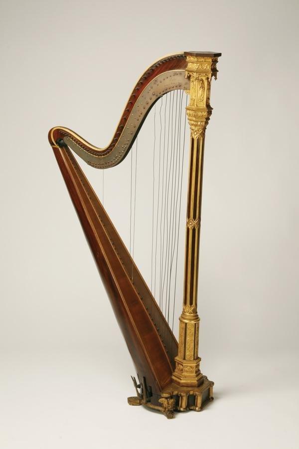3: 19th c. Erard harp