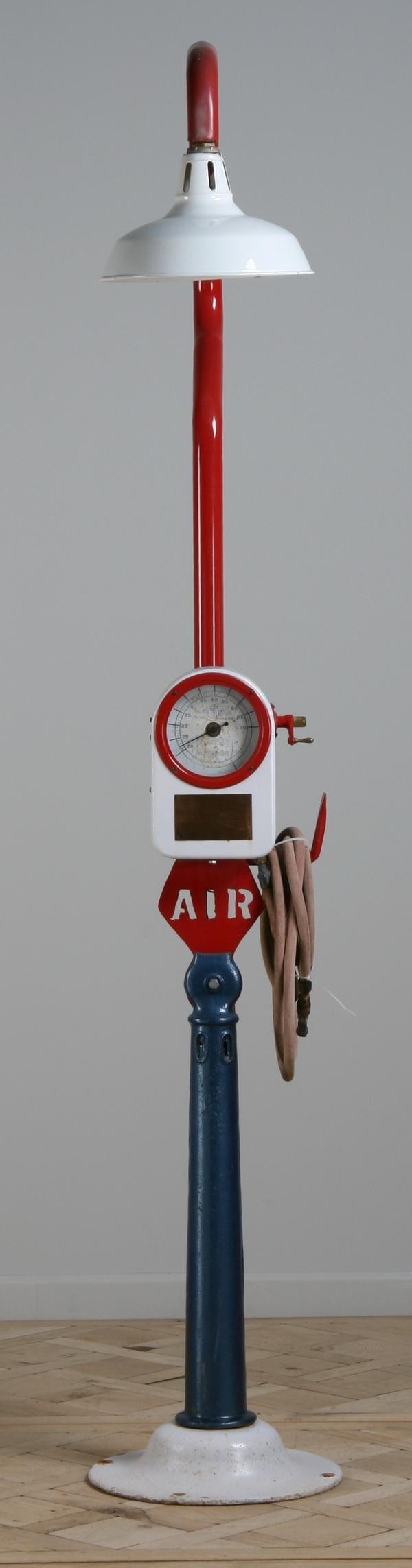 6: Vintage air compressor
