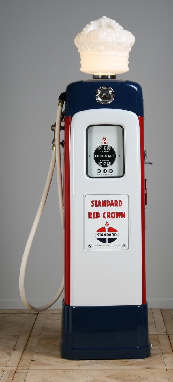 7: Rare vintage gas pump by Martin & Schwartz