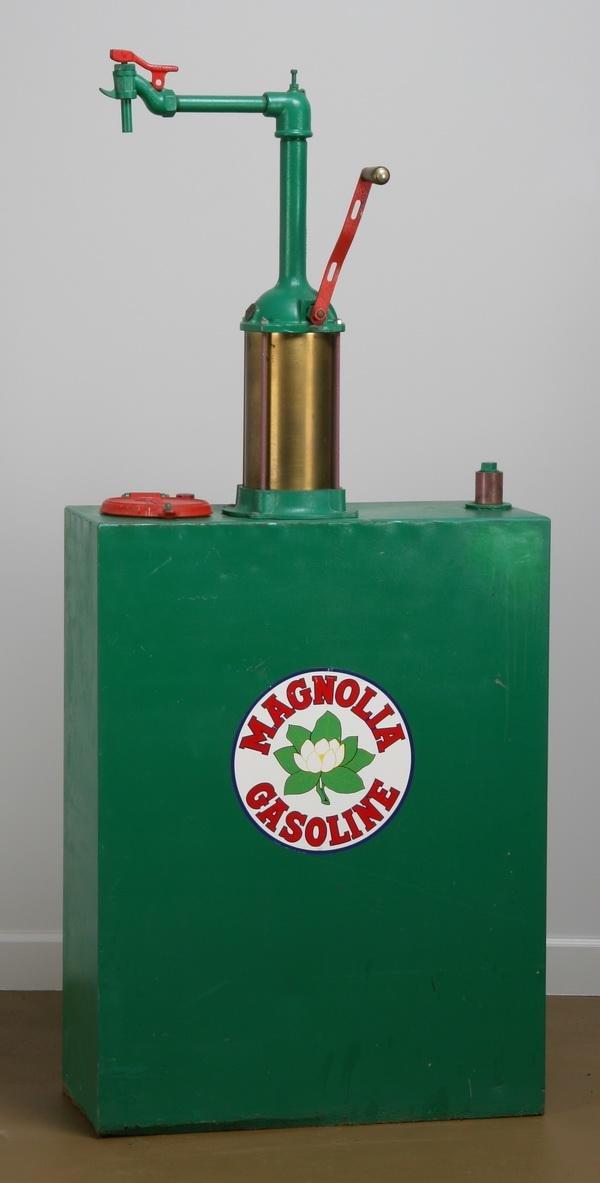 9: Rare Magnolene hand cranked oil dispenser