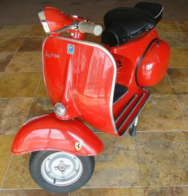 17: 1965 Piaggio Vespa