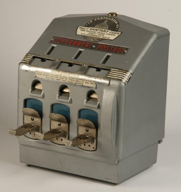 24: Rare coin-op postage machine