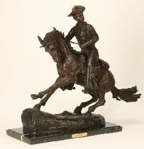 Bronze Sculpture, After Frederick Remington