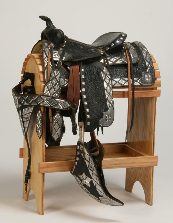 148: Western parade saddle by Edward Bohlin