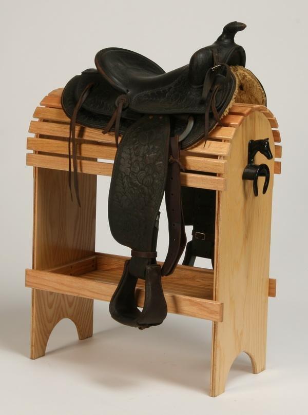 166: Western saddle by Rhodes