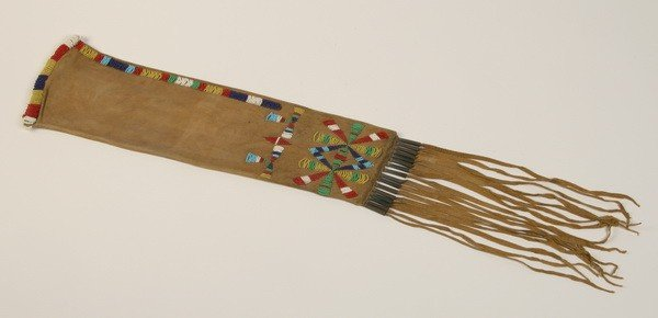 227: Early 20th c. Native American pipe bag
