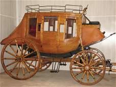 230: Wells Fargo Overland Stagecoach