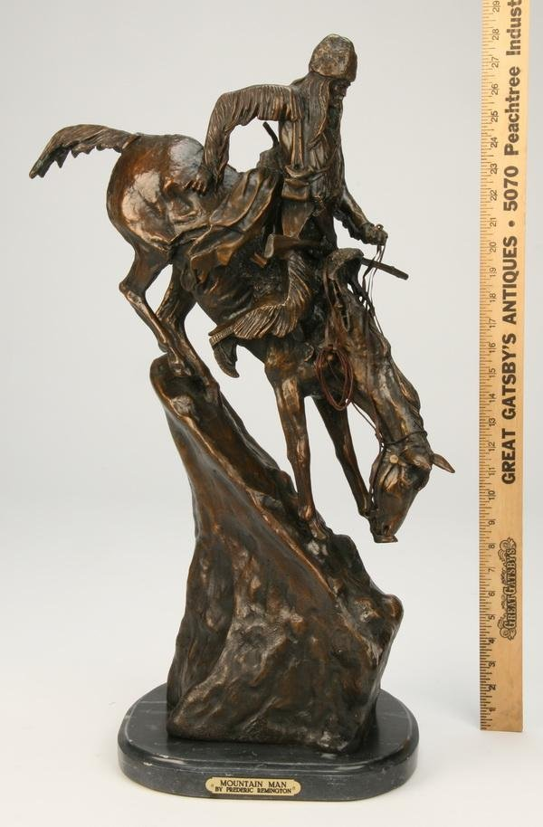 243: Bronze sculpture, after Frederick Remington