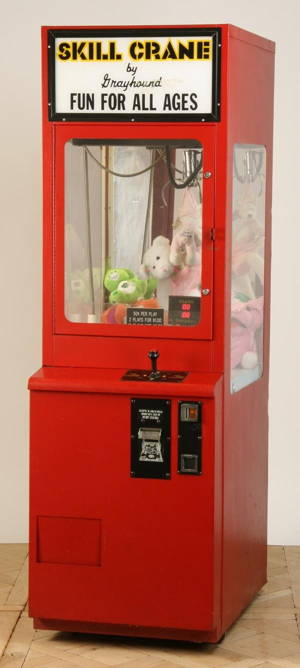 321: Coin operated Skill Crane game