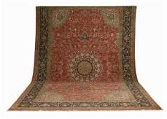 176 Palace size Persian Heriz rug 19 long