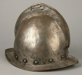 17th C. Marion-Cabasset Iron Helmet