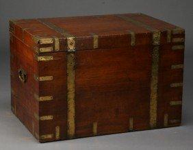 15: 19th c. British campaign trunk