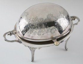 16: 19th c. Irish silver tureen