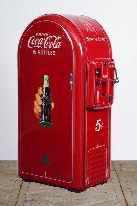 32: Restored Coca Cola vending machine