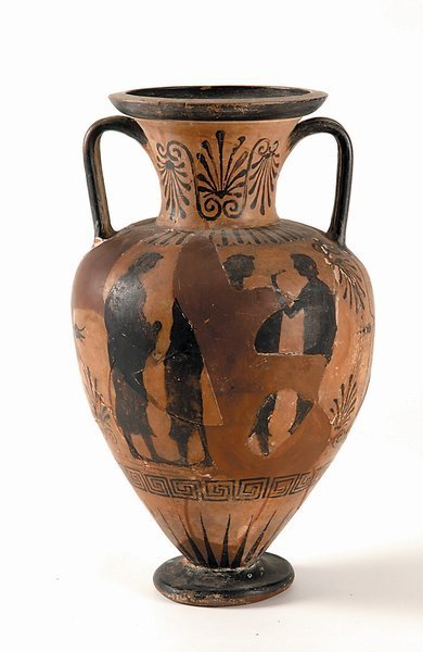 15: Etruscan Painted Amphora 5th 6th Century BC