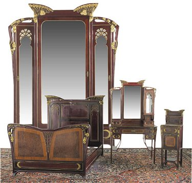 Astonishing 53 Attr Majorelle Art Nouveau Bedroom Set Mahogany Download Free Architecture Designs Osuribritishbridgeorg