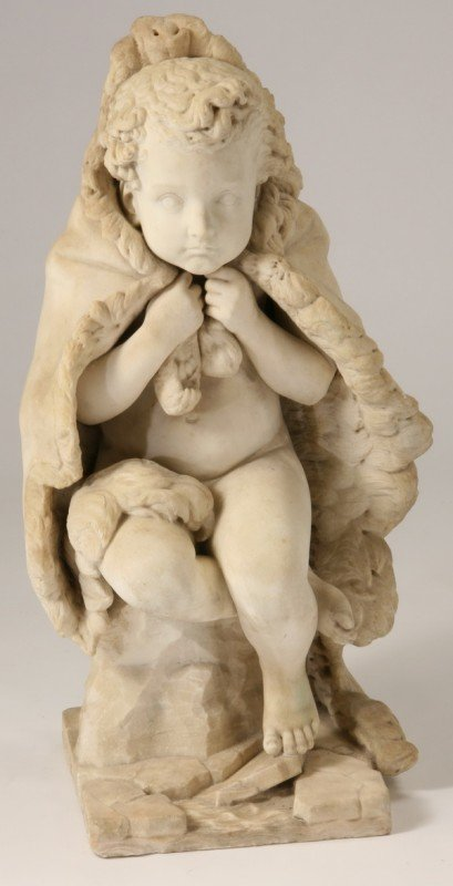 8: Late 19th c. Italian marble sculpture