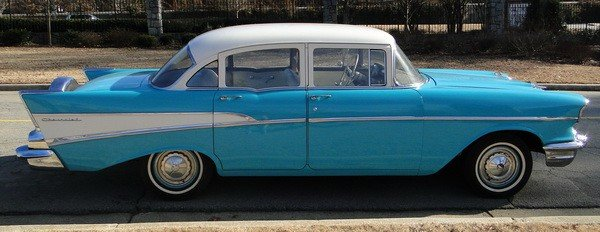 233: 1957 Chevy Biscayne 210