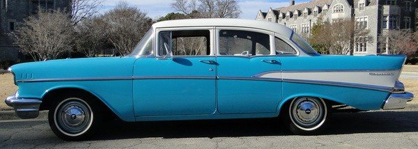233: 1957 Chevy Biscayne 210 - 2