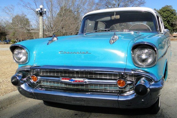 233: 1957 Chevy Biscayne 210 - 3