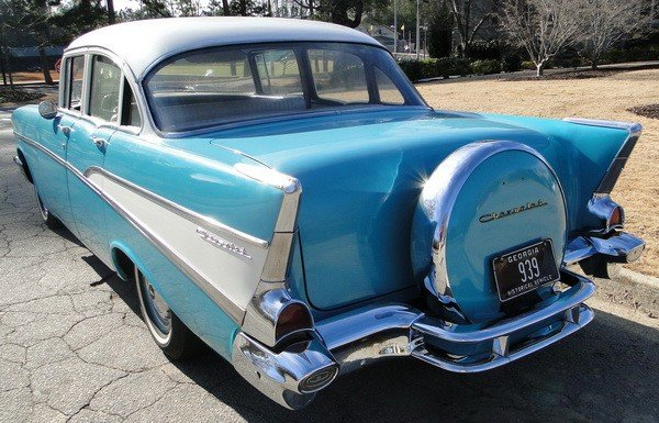 233: 1957 Chevy Biscayne 210 - 4