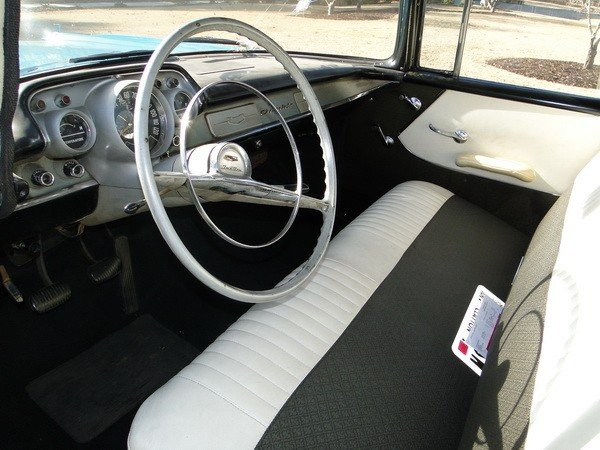 233: 1957 Chevy Biscayne 210 - 8