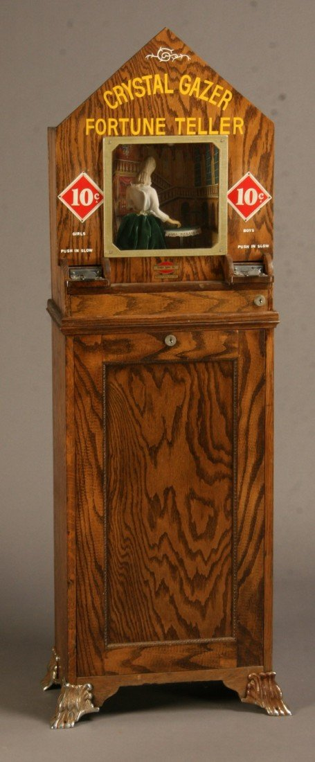12: Early 20th c. American coin-op arcade game