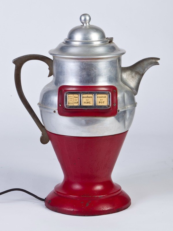 14: Rare American WW II commercial coffee grinder