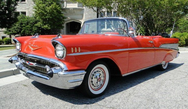 372: 1957 Chevy Bel Air convertible