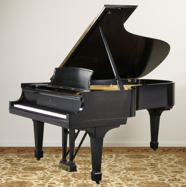 6: 20th c. Steinway & Sons grand piano