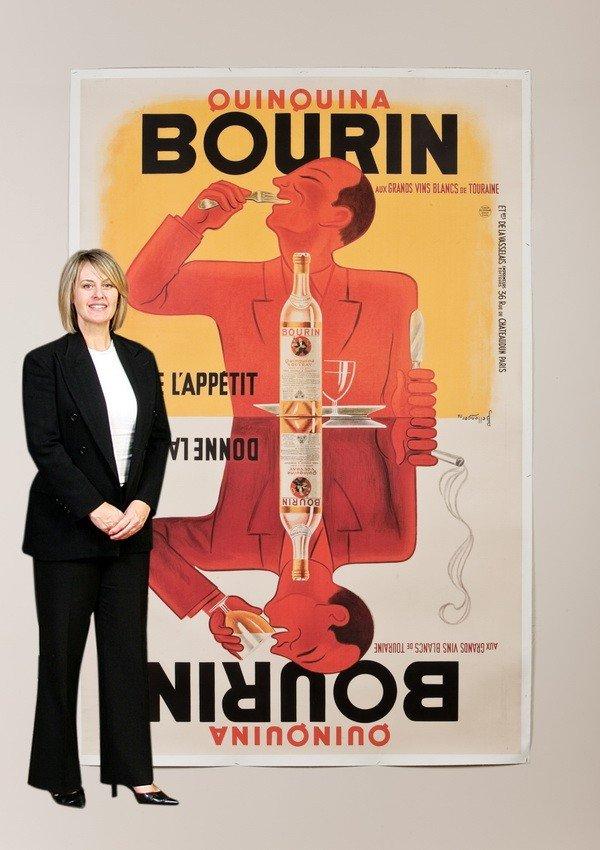 10: Oversized original French advertising poster