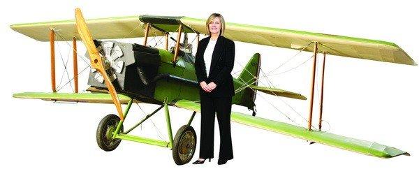 451: WWI fighter bi-plane tribute