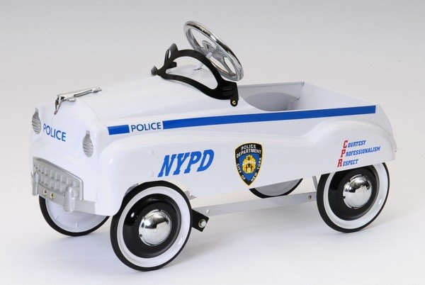506: Late 20th c. 1950's style NYPD pedal car - 2